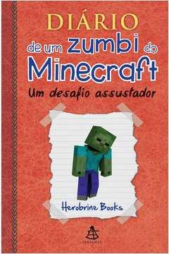 Diário de um Zumbi do Minecraft: um Desafio Assustador