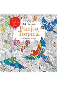 Paraiso Tropical Livro de Colorir