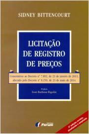 LICITACAO DE REGISTROS DE PRECOS