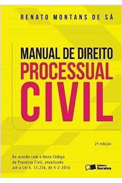 Manual de Direito Processual Civil
