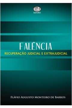 Falencia Recuperação Judicial e Extrajudicial