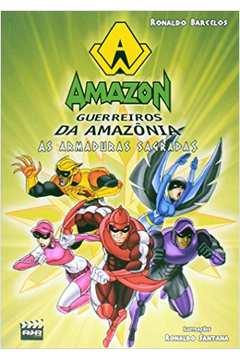 Amazon: Guerreiros da Amazônia - As Armaduras Sagradas