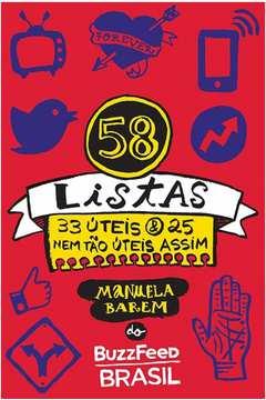 58 listas: 33 úteis e 25 nem tão úteis assim