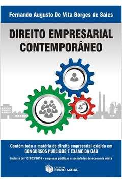 Direito Empresarial Contemporaneo