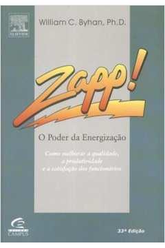 Zapp! O Poder Da Energizacao - Como Melhorar A Qualidade, A Produtividade E A Satisfacao Dos Funcionarios