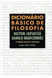 DICIONARO BASICO DE FILOSOFIA / 4ª EDICAO