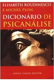 DICIONARIO DE PSICANALISE - COL.DICIONARIOS