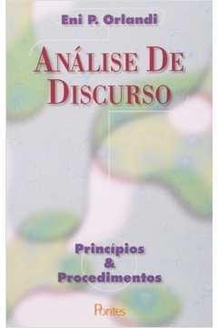 ANALISE DE DISCURSO - PRINCIPIOS E PROCEDIMENTOS