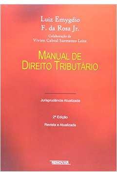 Manual de Direito Financeiro e Direito Tributario