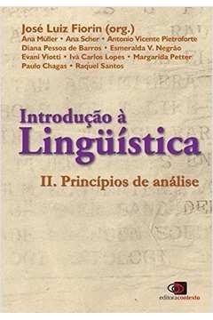 Introdução à Linguística: Princípios de Análise (Vol. 2)