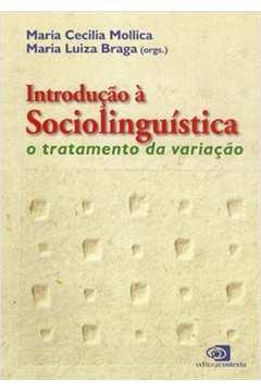 Introducao a Sociolinguistica o Tratamento da Variacao