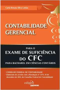 Contabilidade Gerencial para Exame de Suficiencia do Cfc
