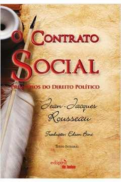 Contrato Social, O: Princípios do Direito Político (bolso)