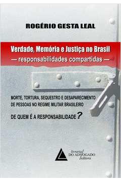 Verdade Memoria e Justica no Brasil