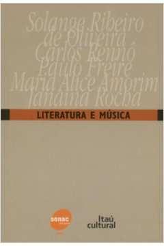 Literatura e Música - Esgotado no Fornecedo