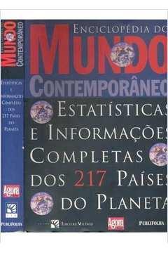 Enciclopedia Do Mundo Contemporaneo - Estatisticas E Informacoes Completas Dos 217 Paises Do Planeta