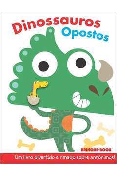 Dinossauros Opostos Colecao Dedoches