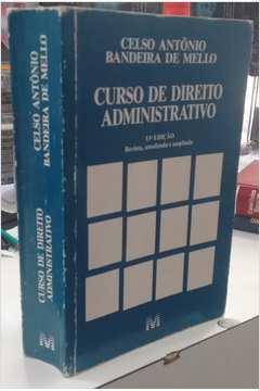 Curso de Direito Administrativo - 13ª Edição