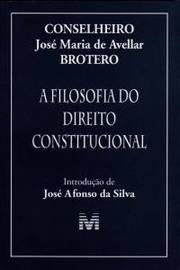 Filosofia do Direito Constitucional, A