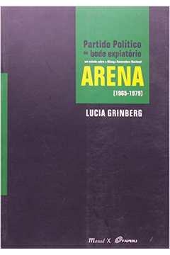 Partido Politico Ou Bode Expiatorio Arena 1965 1979