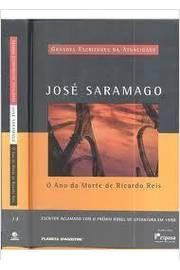 ANO DA MORTE DE RICARDO REIS, O / GRANDES ESCRITORES DA ATUALIDADE / 1ª EDICAO