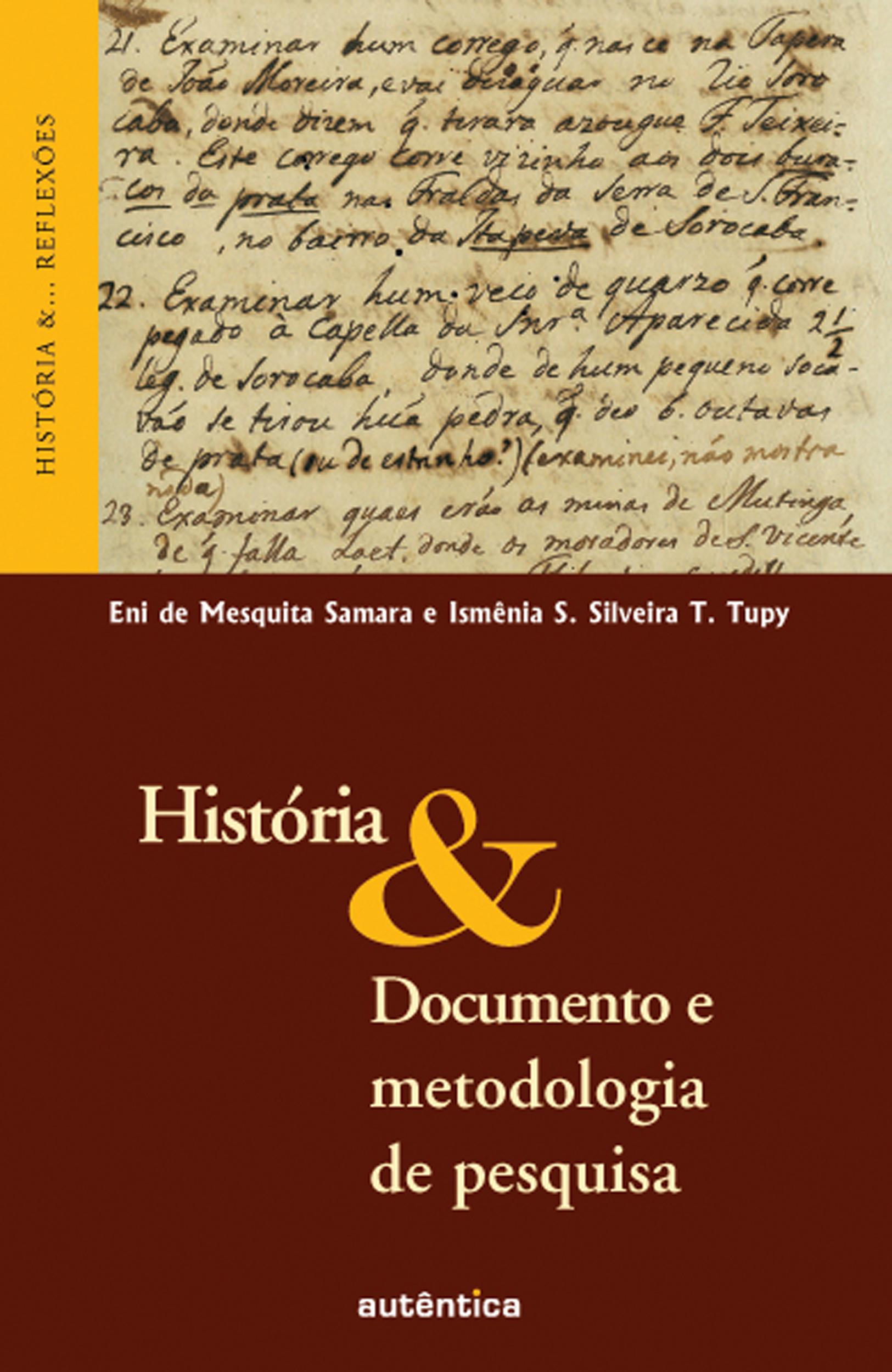 Historia Documento e Metodologia de Pesquisa