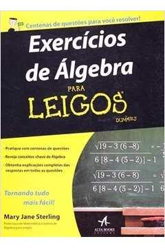 Exercicios de Algebra para Leigos