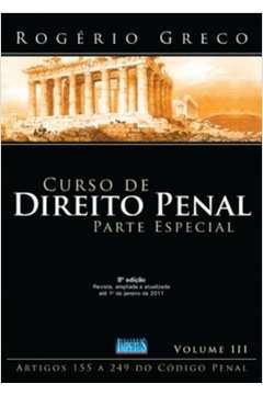 Curso de Direito Penal Volume Iii - Parte Especial 5ª Edição