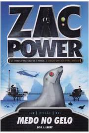 Zac Power: Medo no gelo - Volume 4