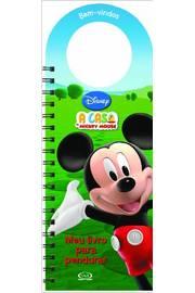 Casa do Mickey Mouse a Meu Livro para Pendurar