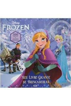 Frozen Meu Livro Gigante de Brincadeiras