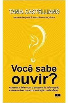 Voce Sabe Ouvir? - Aprenda A Lidar Com O Excesso