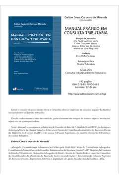 Manual Prático Em Consulta Tributária