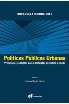 Políticas Públicas Urbanas
