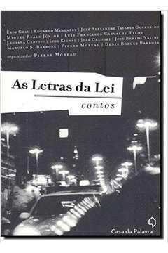As letras da lei: contos