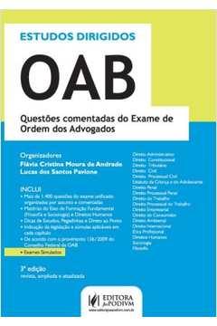 Estudos Dirigidos Oab - Resvita Ampliada e Atualizada