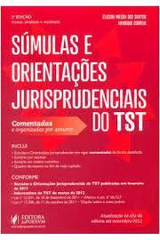 Súmulas e Orientações Jurisprudenciais do Tst