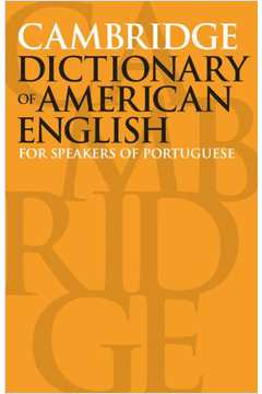 CAMBRIDGE DICTIONARY OF AMERICAN ENGLISH FOR SPEA