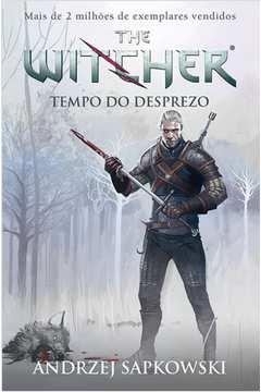 Tempo do Desprezo - Vol.4 - Série The Witcher - Capa Game