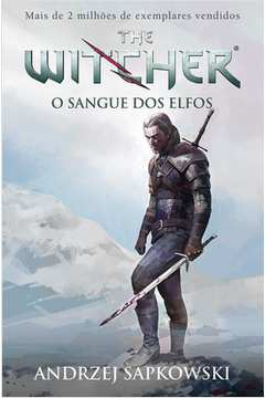Sangue dos Elfos o Vol 3 Serie the Witcher Capa Game