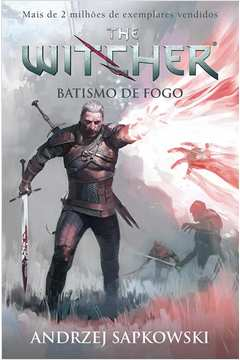 Batismo de Fogo Vol 5 Serie the Witcher Capa Game
