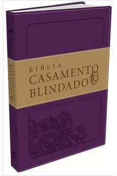 Bíblia Casamento Blindado. Roxa
