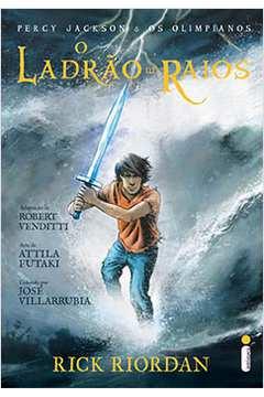 Ladrao de Raios, o Graphic Novel