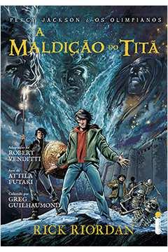A Maldição do Titã; Graphic Novel