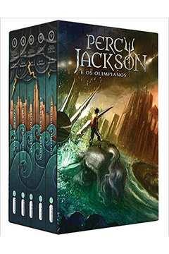 BOX PERCY JACKSON E OS OLIMPIANOS