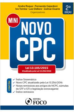 Mini Novo Cpc Lei 13 105 2015 Atualizada pela Lei 13 256 2016