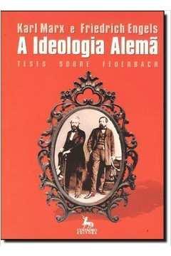 A Ideologia Alemã Teses Sobre Feuerbach