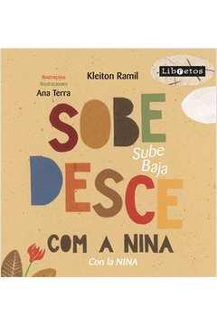 Sobe Desce com a Nina - Sube Baja Conla Nina - Bilíngue - Acompanha Cd Rom