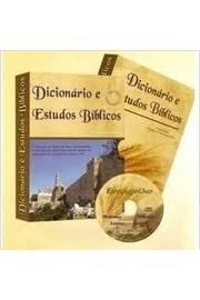 Dicionario E Estudos Biblicos - Sem Cd
