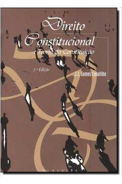 canotilho direito constitucional